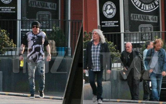 Captan a Axl Rose con AC/DC