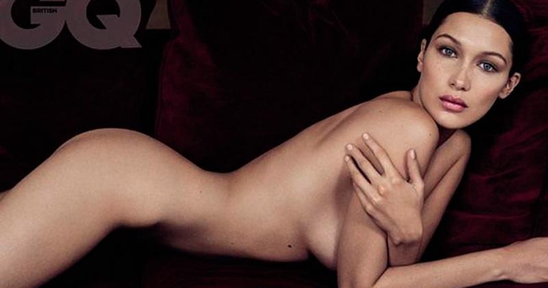 La supermodelo Bella Hadid se cae en la pasarela
