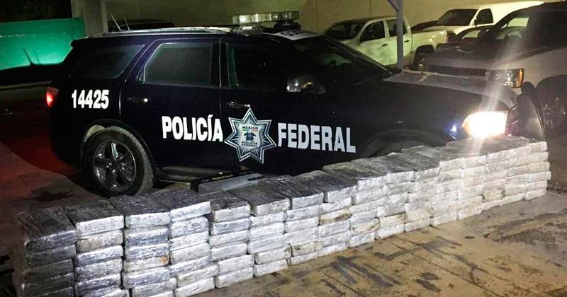 Aseguran en Tamaulipas 105 kilos de cocaína que salió de Xalapa