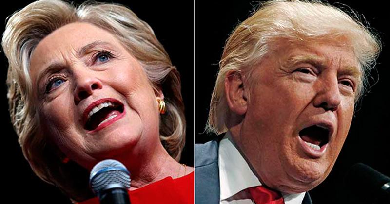 Altas probabilidades de que Clinton y Trump empaten en Florida