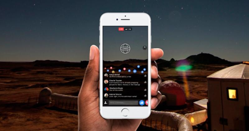 Videos 360 en vivo estará disponible en Facebook