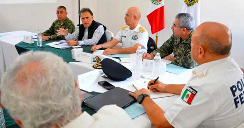 Resultado de imagen para Yunes se reúne con Gabinete de Seguridad; afinan acciones a seguir