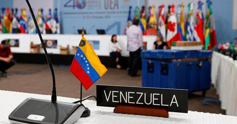OEA impulsa batalla ideológica contra Venezuela — Evo