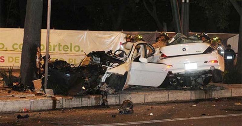 Ratifican prisión a conductor de BMW que chocó en Reforma