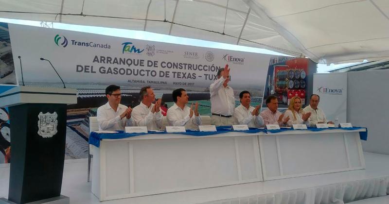 Tiene Tamaulipas el primer gasoducto marino de México