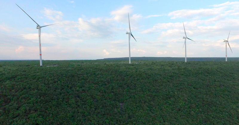 Inauguran tercera etapa del Parque Eólico en Llera