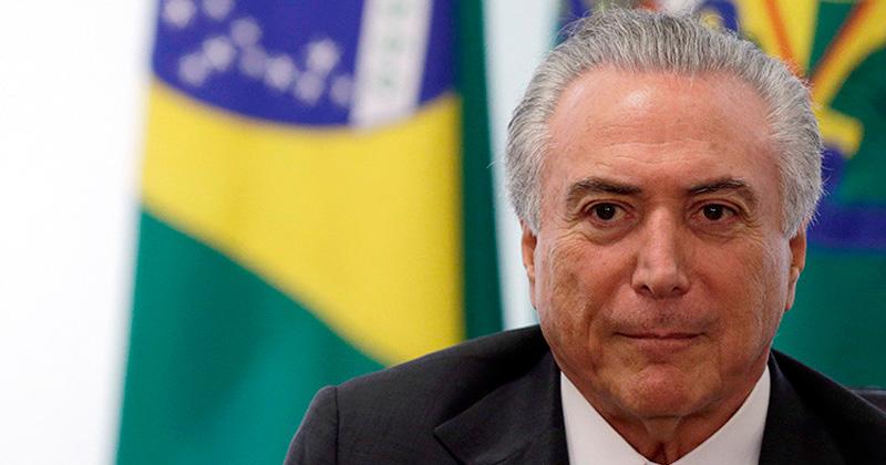 Brasil: Fiscal acusa Michel Temer de corrupción y obstrucción a justicia