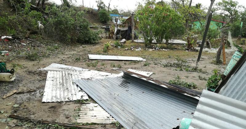 Destroza tromba humildes viviendas en ejidos de Altamira