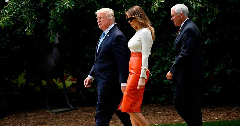Trump encabeza en Raid la cumbre con los países del Golfo