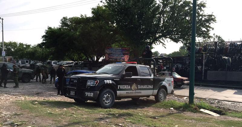 Arranca operativo de revisión de yonkes en Reynosa