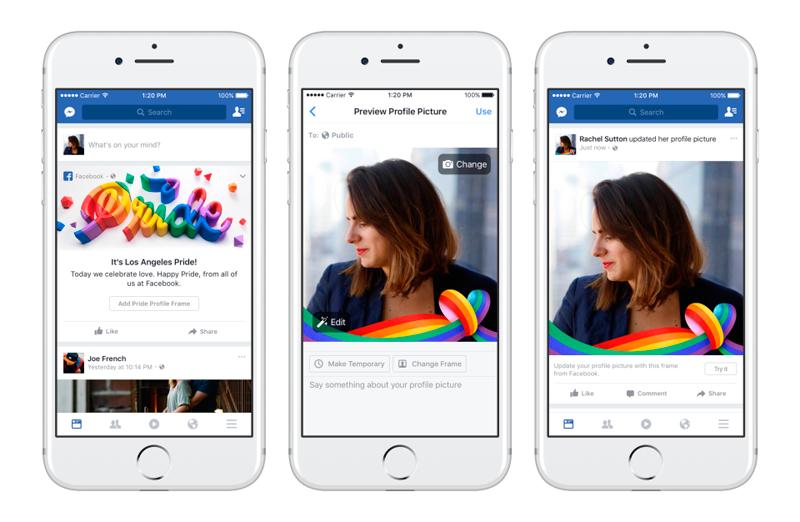 Facebook incorpora reacción 'Me enorgullece' en el mes LGBT