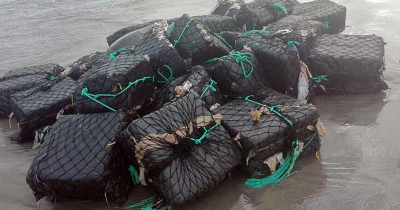 Decomisa la Marina más de mil kilos de cocaína en Barra Vieja