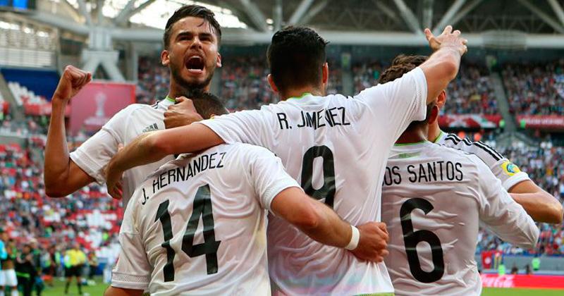 México saca empate 2-2 con Portugal en debut de Confederaciones