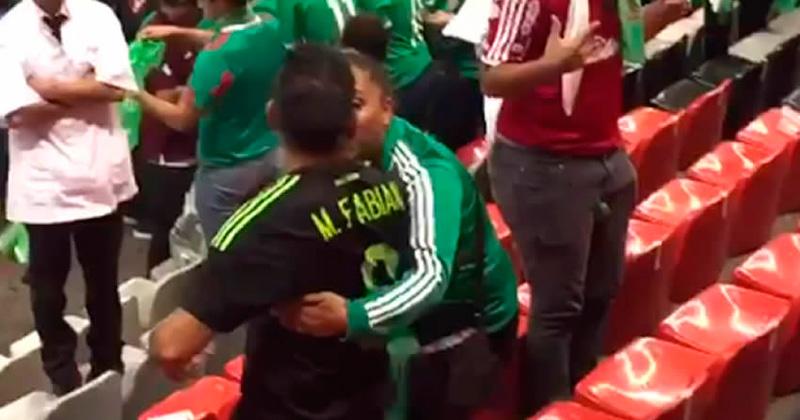 Papá de Marco Fabián protagonizó riña en el Azteca
