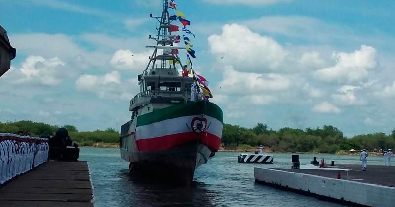 Tiene SEMAR nueva patrulla costera en Tamaulipas