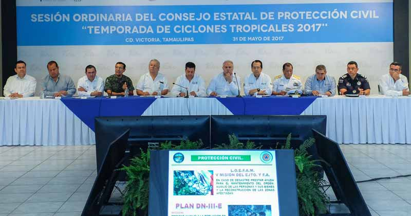 Instalan Consejo de Protección a huracanes
