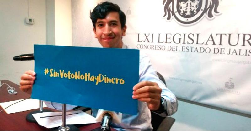 Congreso de Jalisco aprueba iniciativa 'Sin Voto No Hay Dinero'