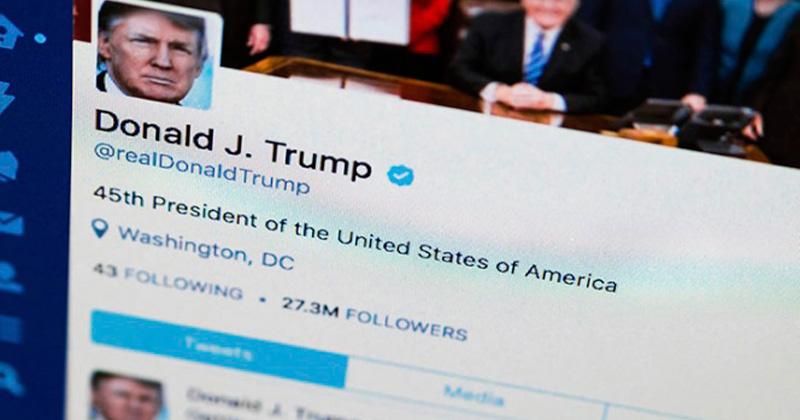Proponen ley 'covfefe' para archivar todos los tuits de Trump