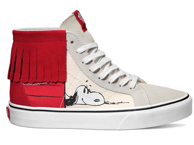 Vans lanza línea de Snoopy y Charlie Brown