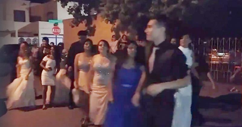 'Lady Graduación' les arruina festejo a estudiantes de Nuevo Laredo
