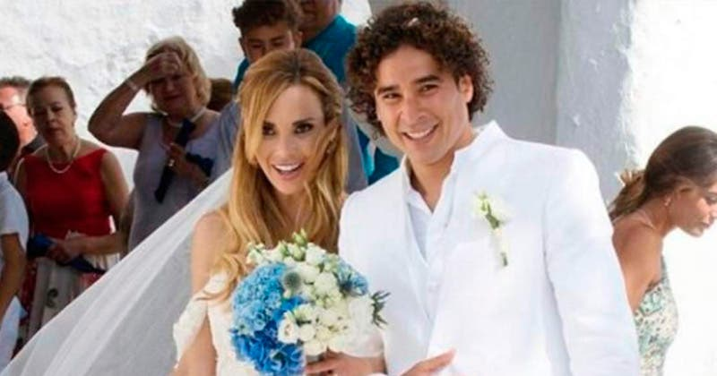 Así fue la romántica boda de Memo Ochoa y Karla Mora