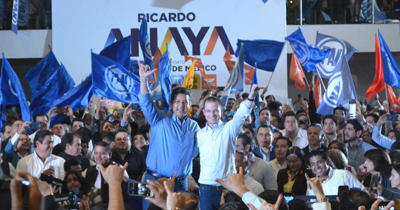 Registra Anaya aspiración ante PRD