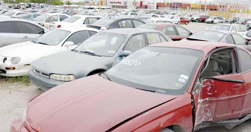 Asignarán a secretarías de Tamaulipas vehículos decomisados en Reynosa