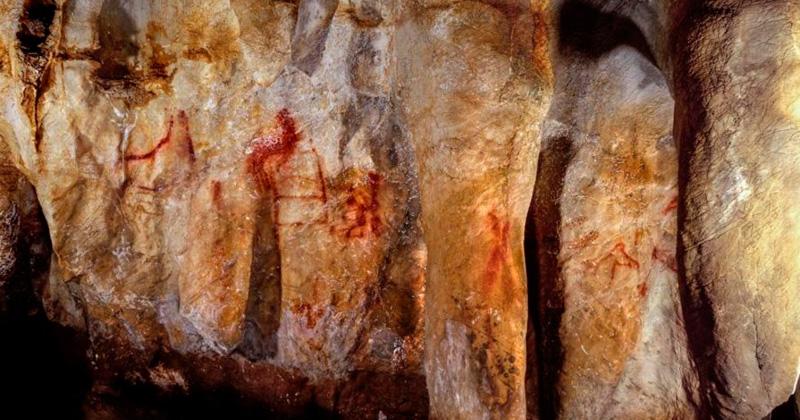 Descubren arte rupestre creado por los neandertales en España