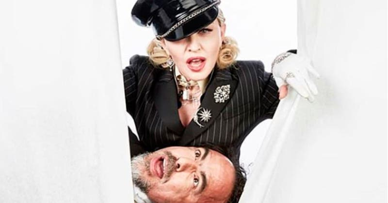 Iñárritu se fue de fiesta con Madonna y Kim Kardashian