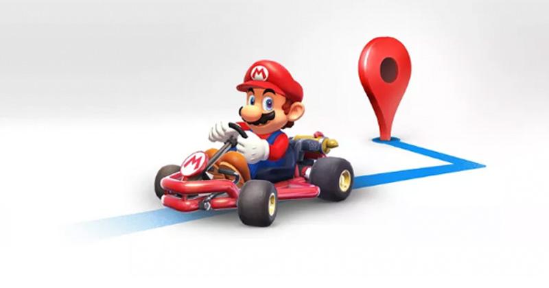 Ahora podrás conducir con Mario en Google Maps