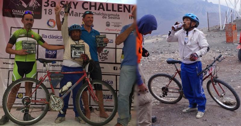 Ciclista domina prueba más difícil de México con bicicleta de aficionado