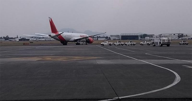 Falsa alarma, bomba en cabina de avión: AICM