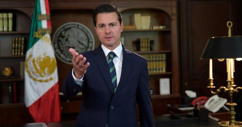 Peña Nieto informa al Senado que realizará gira por Europa