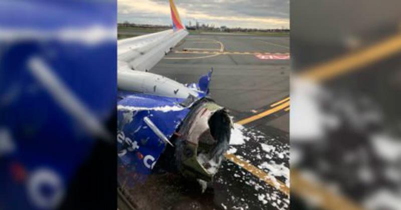 Aterrizaje de emergencia de avión de Southwest Airlines deja un muerto