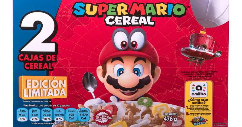 """Ya está a la venta el Super Mario Cereal en México"""""""