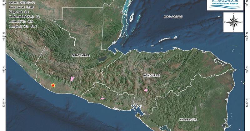 Noticias internacionales Sismo de 5.6 sacude a Guatemala