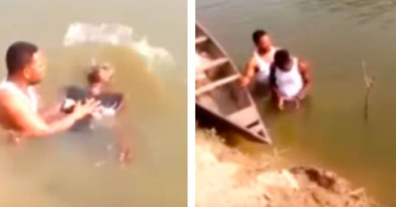 Murió un joven de 20 años mientras era bautizado en el río