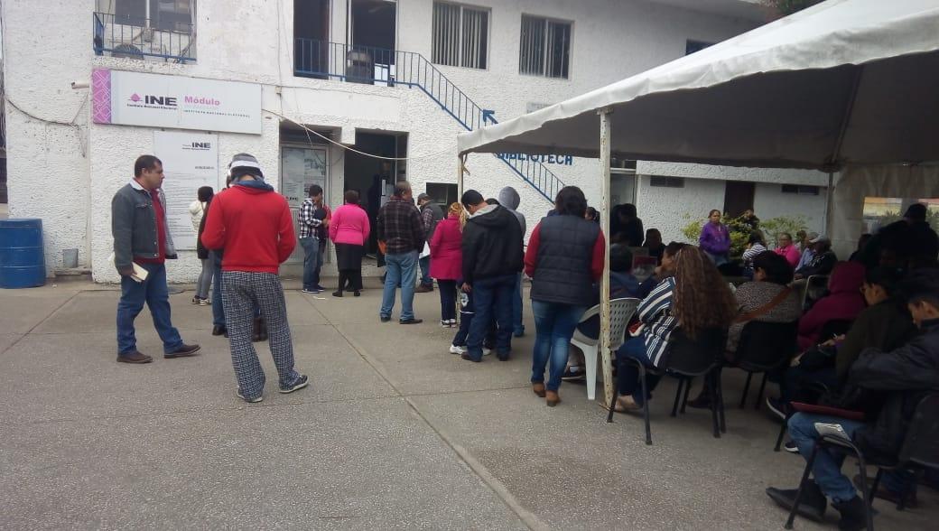 Saturadas Oficinas Del Ine En Tampico Expreso