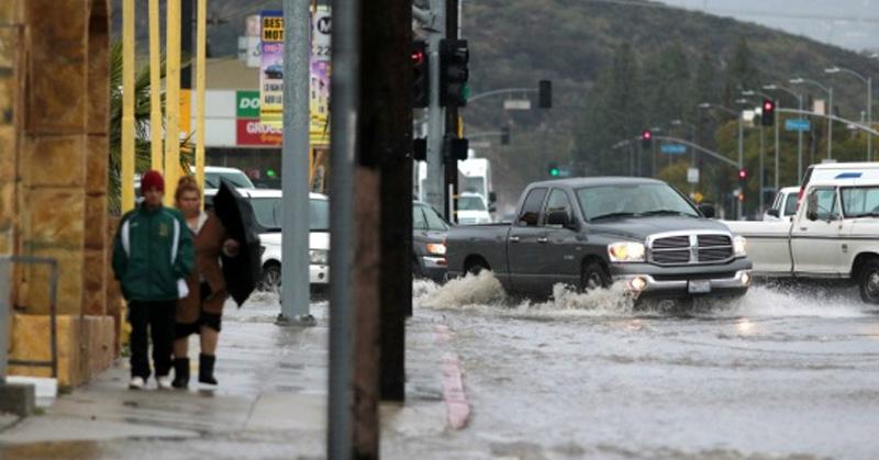 Megatormenta podría dejar amplias zonas de California bajo el agua