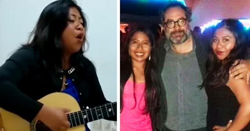 Sorprende voz de la hermana de Yalitza Aparicio