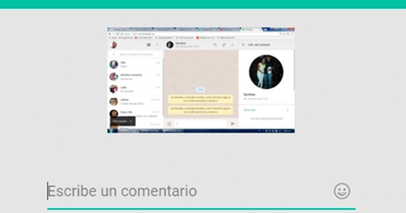 Nueva actualización de WhatsApp no permitirá realizar capturas de pantalla