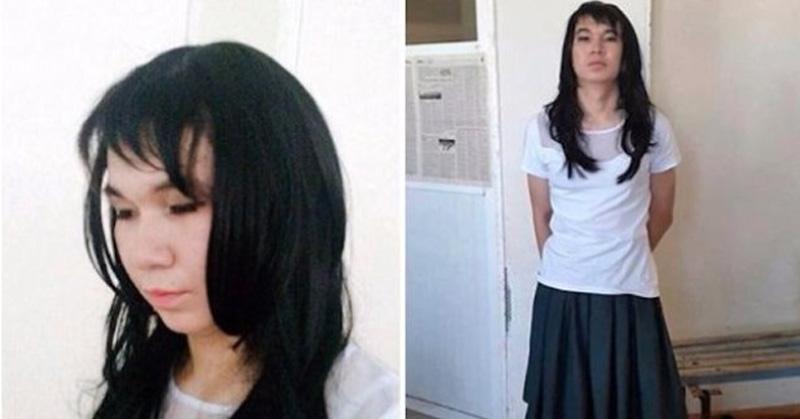 Vestido de mujer intentó rendir en nombre de su novia