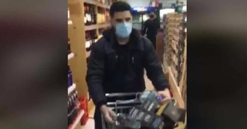 (VIDEO) Un minuto para llevarse lo que quiera del supermercado