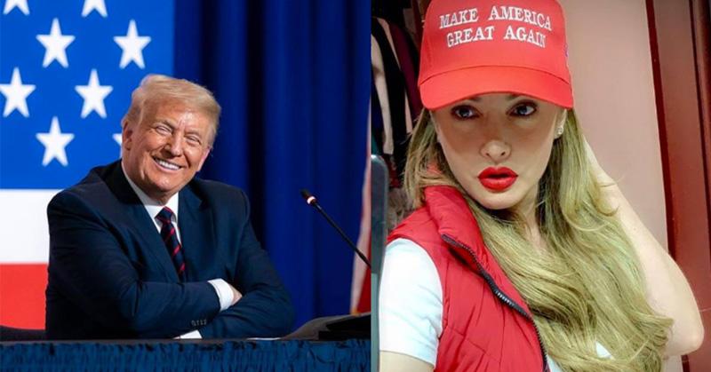 Paty Navidad apoya reelección de Trump